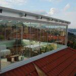 cam balkon çatı kapama